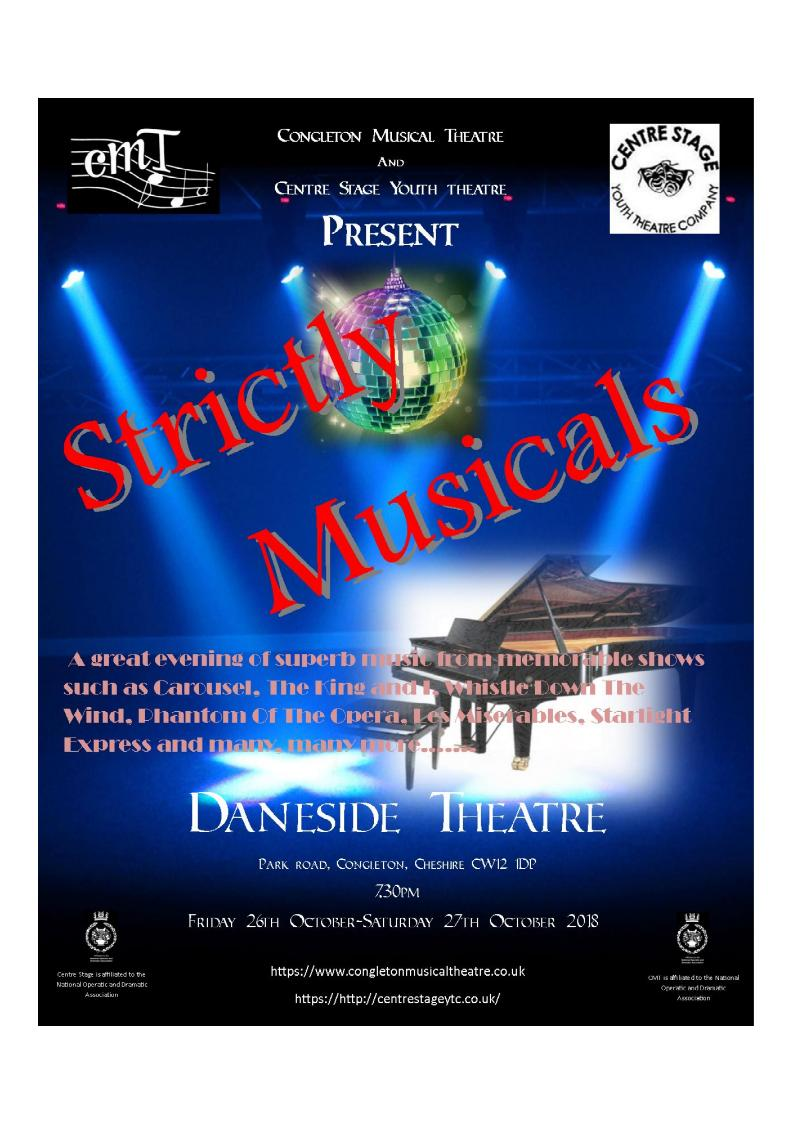 Strictly Musicals poster